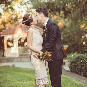 best wedding photographers Los Angeles Blue Cat